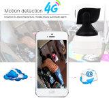 Slimme IP WiFi van de Camera van de Kaart van Toesee 1.0MP HD Draadloze 3G 4G SIM 720p Camera met Batterij