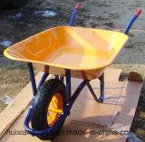 Wb6400 de Kruiwagen van de Bouw van de Tuin van het Staal of van het Aluminium