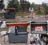 Alimentación automática de la esquina de la máquina de corte de perfiles de aluminio