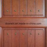 Porta de Entrada de madeira de carvalho vermelho