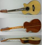 Cadena hecha especial de las existencias 12 de Aiersi guitarra acústica (SG012SMCE-40)