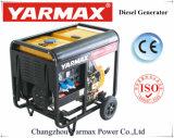 Yarmax 4.8kVA 5.2kVA Luft abgekühltes einzelnes Zylinder-Dieselmotor-geöffneter Rahmen-Dieselgenerator-Set Genset Ym7500eb-I