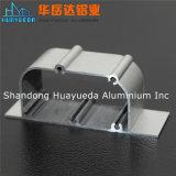 Profil en aluminium anodisé pour le guichet et la porte de tissu pour rideaux