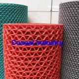 PVC malla roja de plástico antideslizante Mat