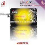 Bonito PVC Plástico Cartão VIP com preço de fábrica