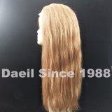 Peluca larga larga del cordón del pelo humano