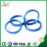 Anel-O preto resistente da borracha de silicone do nitrilo da cor NBR do petróleo