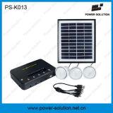 Sistema de iluminação solar DC com carregador de telemóvel