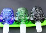 Tazón de fuente de cristal de cristal de 2016 muchos del nuevo diseño que fuma de agua accesorios del tubo para fumar