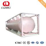 Csc Vloeibare Middelgrote 20FT of 40FT de Container van de Tank van de Olie van ISO