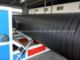 HDPE двойные стенки усилены стальной трубопровод обмотки Hollowness машины