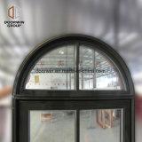 Janela Casement de alumínio de madeira de carvalho americano na janela do Virabrequim