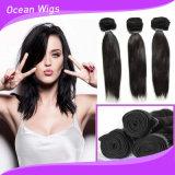"""10-40 """"まっすぐな最上質の人間のRemyの安いブラジルの毛の織り方"""