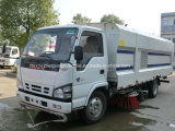 Balayeuse Isuzu 6m3 de la route et de lavage du chariot de balayage