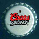 Il LED illumina in su il distintivo di protezione della bottiglia da birra (3569)