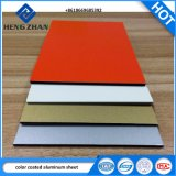 3003 het houten Blad van het Aluminium van de Korrel Hoge Glanzende Kleur Met een laag bedekte voor Samengesteld Comité/Gordijngevel/Plafond