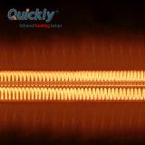 A fibra de carbono lâmpada de aquecimento de halogéneo de quartzo