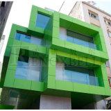 Pannelli di alluminio di alluminio meravigliosi del comitato della facciata/di rivestimento