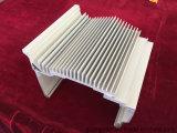 Profil en aluminium d'enduit de poudre d'extrusion de la vente 6000s d'usine pour le radiateur