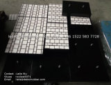 Gomma del trasportatore & comitato composito di ceramica di usura per il rivestimento di usura dello scivolo con il piatto di ceramica del rivestimento (ZE-TCM)