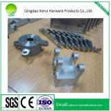 Partie d'usinage CNC faite de pièces de matériel en acier inoxydable tournant