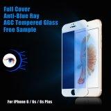 De anti-blauwe Lichte 9h Aangemaakte Beschermer van het Scherm van het Glas voor iPhone Samsung