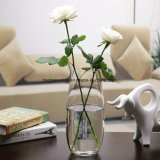 Vaso di vetro da tavolo di stile delle decorazioni europee della casa
