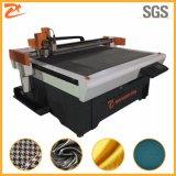 Camada única semiautomático CNC máquina de corte de tecido de malha 1214