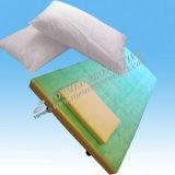Il lenzuolo non tessuto a gettare per l'esame dell'ospedale, il lenzuolo delle speci, PP+PE impermeabilizza il lenzuolo