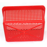 Cheap Single Handle New Plastic Basket Shopping Fabrication de panier à main