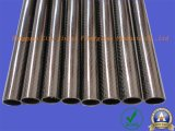 Peso ligero de tubo de fibra de carbono, el tubo de fibra de carbono