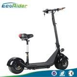 De Vette Band van Ecorider van de Vouwbare Elektrische Autoped Citycoco van de Weg met Zetel voor Volwassenen