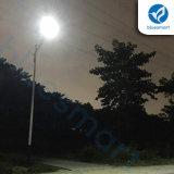Luz de rua solar ao ar livre do diodo emissor de luz do brilho elevado IP65 30With40W