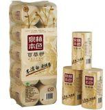 Un pañuelo de papel de pasta de paja de trigo