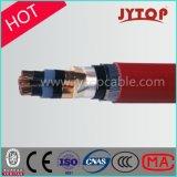Силовой кабель сердечника Hv 3 высокого напряжения медный изолированный XLPE