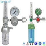 Régulateur médical de l'oxygène d'hôpital approuvé de la CE avec le compteur de débit