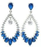 Signora Silver Earring per Semi Precious Stone (E5061)