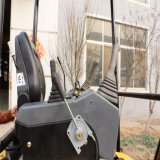 Escavatore miniatura del cingolo della rotella idraulica Yh16