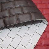 Cuoio dell'unità di elaborazione del ricamo per il cuoio di pattino del sacchetto del Faux della mobilia del sofà