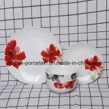 Ensemble de la vaisselle en porcelaine de haute qualité pour les restaurants