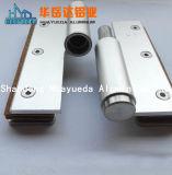 Profil en aluminium naturel pour la fenêtre de la charnière de porte