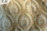 Klassisches Chenille-Textilgewebe mit weißer Farbe