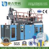 放出の青いバレルのブロー形成機械