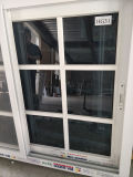 Schiebendes Fenster-einzelnes Glas der Großverkauf-niedrigsten Preis-UPVC mit Gittern