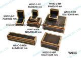 Rectángulo determinado de madera hecho a mano barato de Jewellry de la caja de embalaje