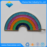 Arco-Íris epóxi personalizado esmalte Metal Fábrica de Pin de lapela