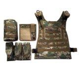 Strumentazione esterna del giacimento della maglia tattica multifunzionale della maglia di combattimento del modulo