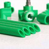 이음쇠 이름 식용수 관 찬 온수 PPR 관을 측량하는 건축재료