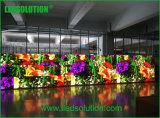 Visualización de LED de alquiler fundida a troquel 576*576m m de interior de las cabinas P3