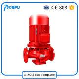 Pompa resistente all'acido del ripetitore di lotta antincendio della pompa centrifuga verticale della puleggia tenditrice